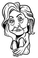 HIllary Clinton by binarygodcom