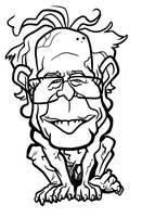 Bernie Sanders by binarygodcom