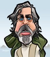 Luke Skywalker Awakens by binarygodcom