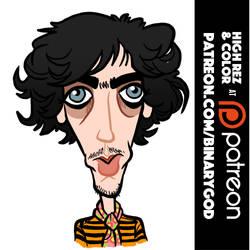 Syd Barrett by binarygodcom