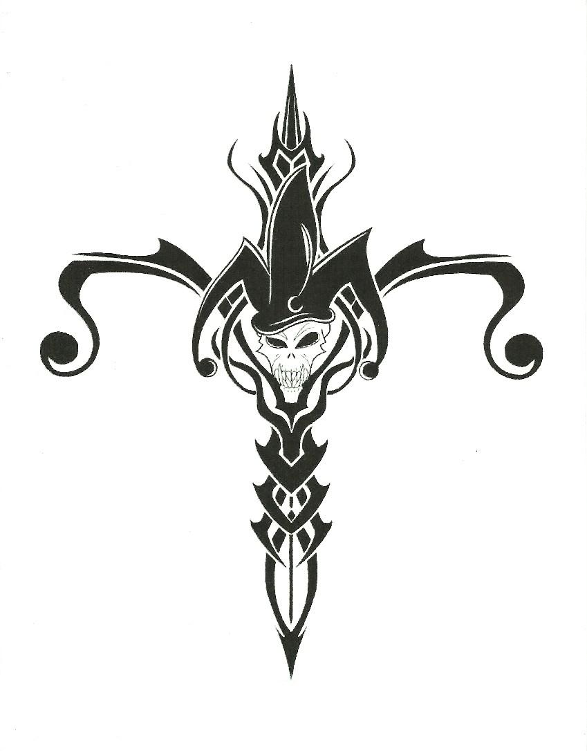 Tribal Death Tattoo: Tribal Death Joker By Gothicknight213 On DeviantArt