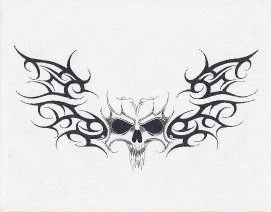 Tribal Death Tattoo: Tribal Death By Gothicknight213 On DeviantArt
