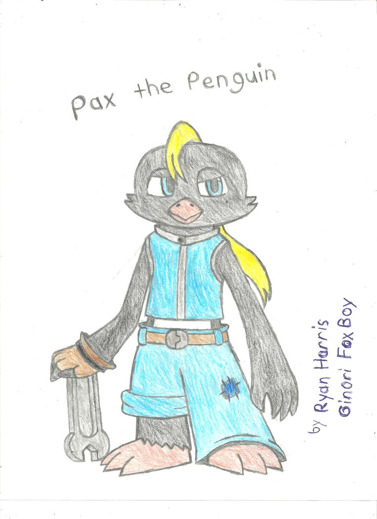 Pax the Penguin by FoxBoyKonogo