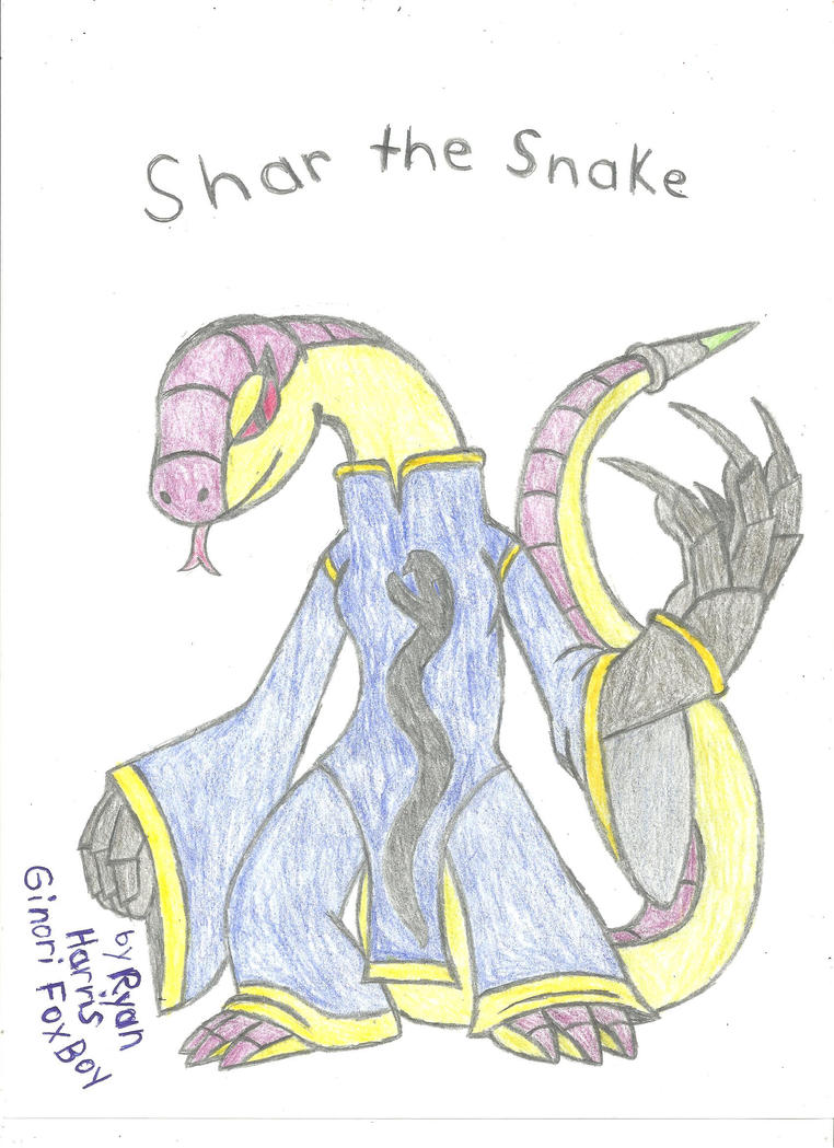Shar the Snake by FoxBoyKonogo