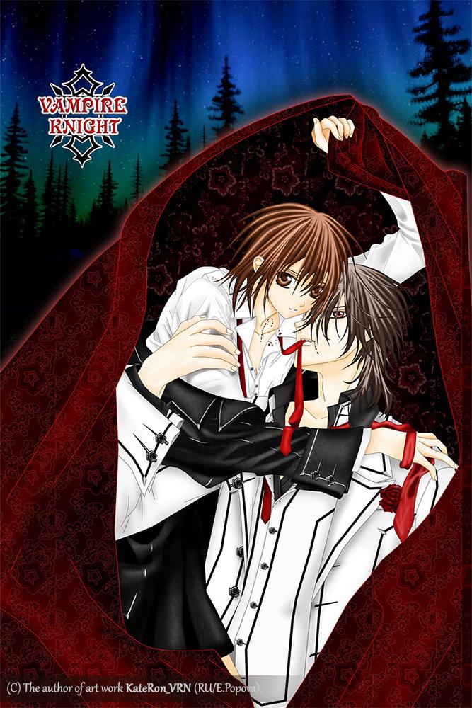 Yuki and Kaname  Manga Vampire Knight by KateRon on DeviantArt