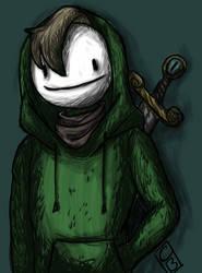 Homeless Green Man