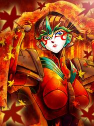 Autumn Windblade by u-me-ta