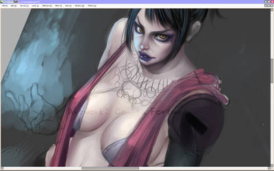 Witch of the Wilds-WIP by CamiFortuna