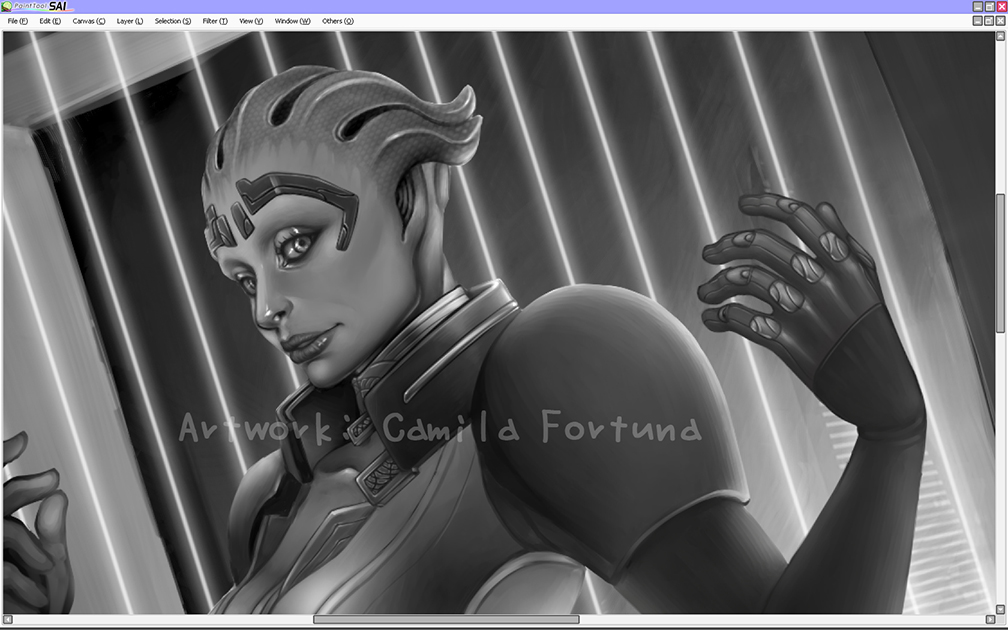 Justicar WIP by CamiFortuna