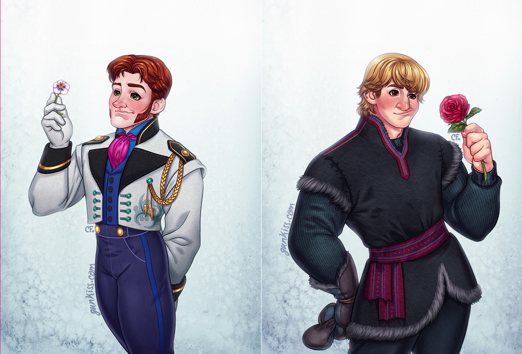Hans and Kristoff Commission by CamiFortuna