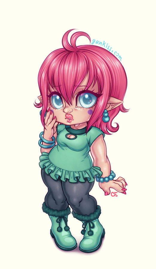 Chibi Renay Commission by CamiFortuna