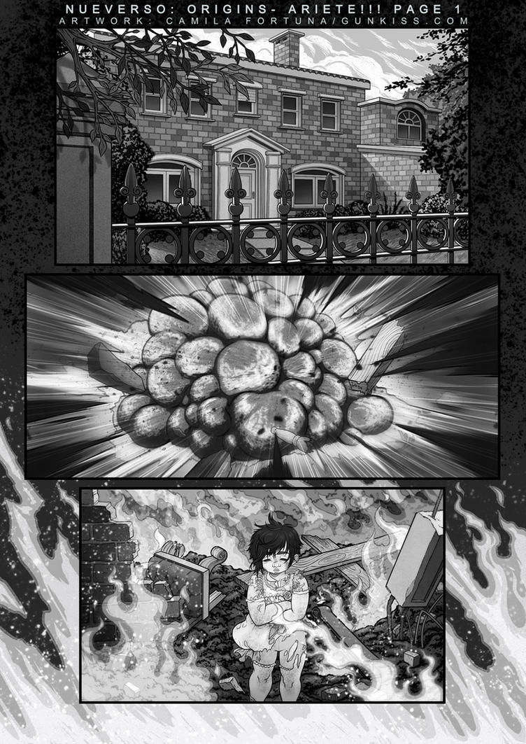 Page 1 Preview for Nueverso: Origins - Ariete by CamiFortuna