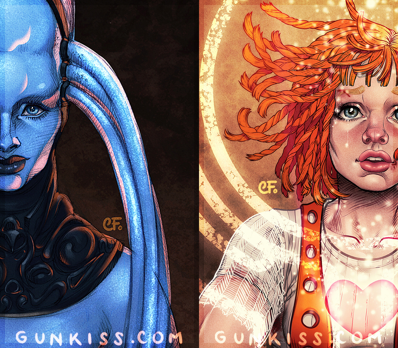 Five Elements Art : The fifth element book previews by camifortuna on deviantart