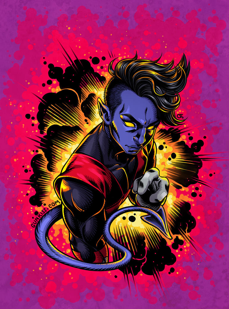 Nightcrawler by CamiFortuna