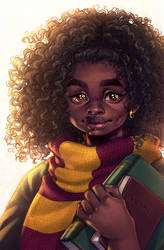 Hermione Granger by CamiFortuna