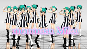 MMD moumusu Miku DL