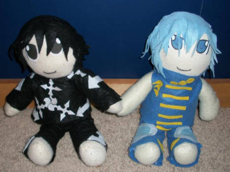 Lexicon and Sitar Plushies