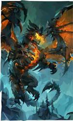 Low poly dragon by tuticapo1337