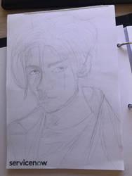Paper manga draw by tuticapo1337