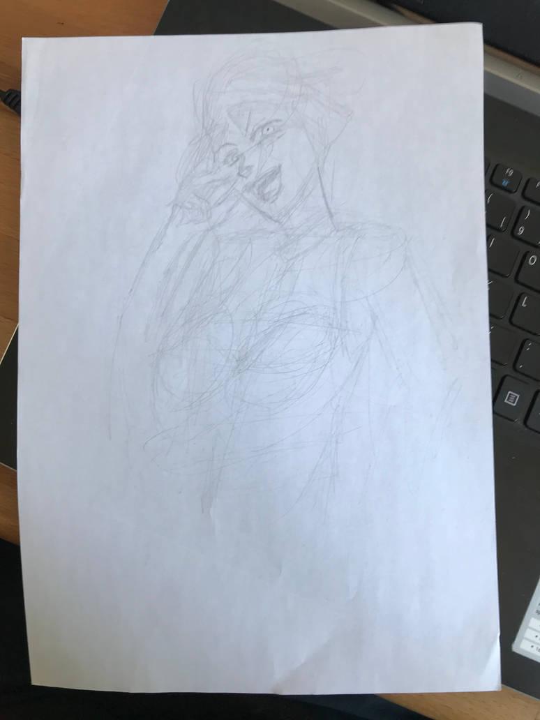 Manga draw unfinished.  by tuticapo1337