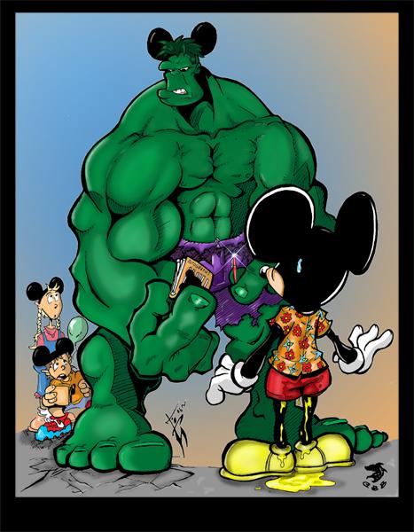 Hulk Cut Coloured.