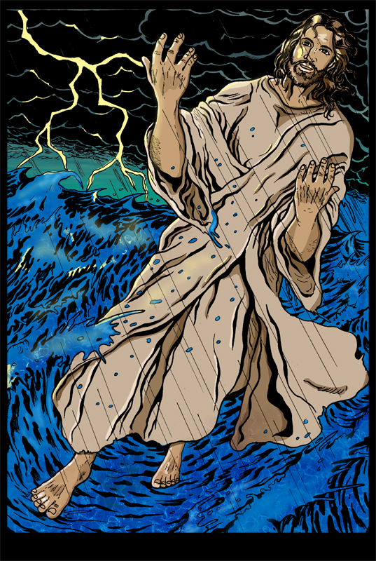 Jesus Walks. by Highlander0423