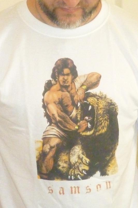 Samson Shirt. by Highlander0423