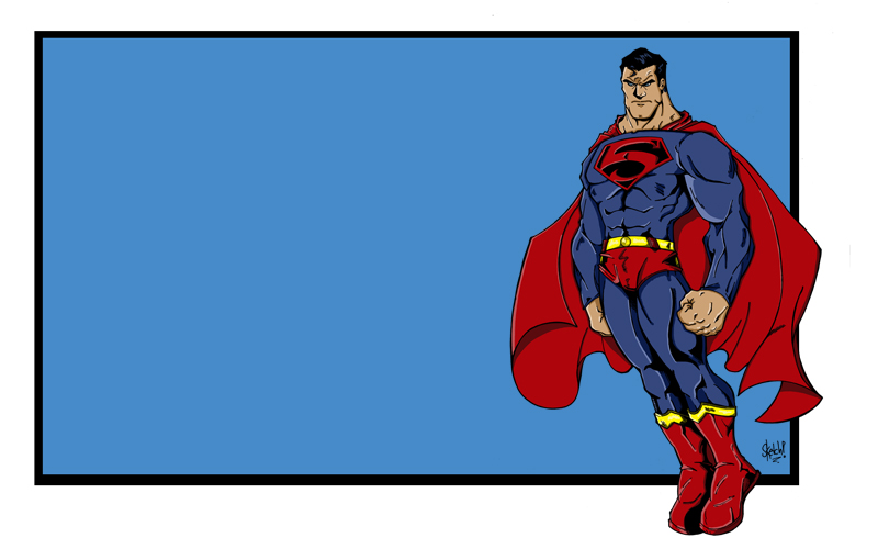 The Man Of Steel.