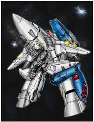 robotech sotd by ratkins Coloured. by Highlander0423