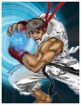 hadoken by NgBoy Coloured.