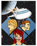 Raegan And RJ In Space Page 14