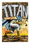 Mighty Titan Aternate Cover.