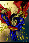 adventures of superman 3 cover by sjsegovia
