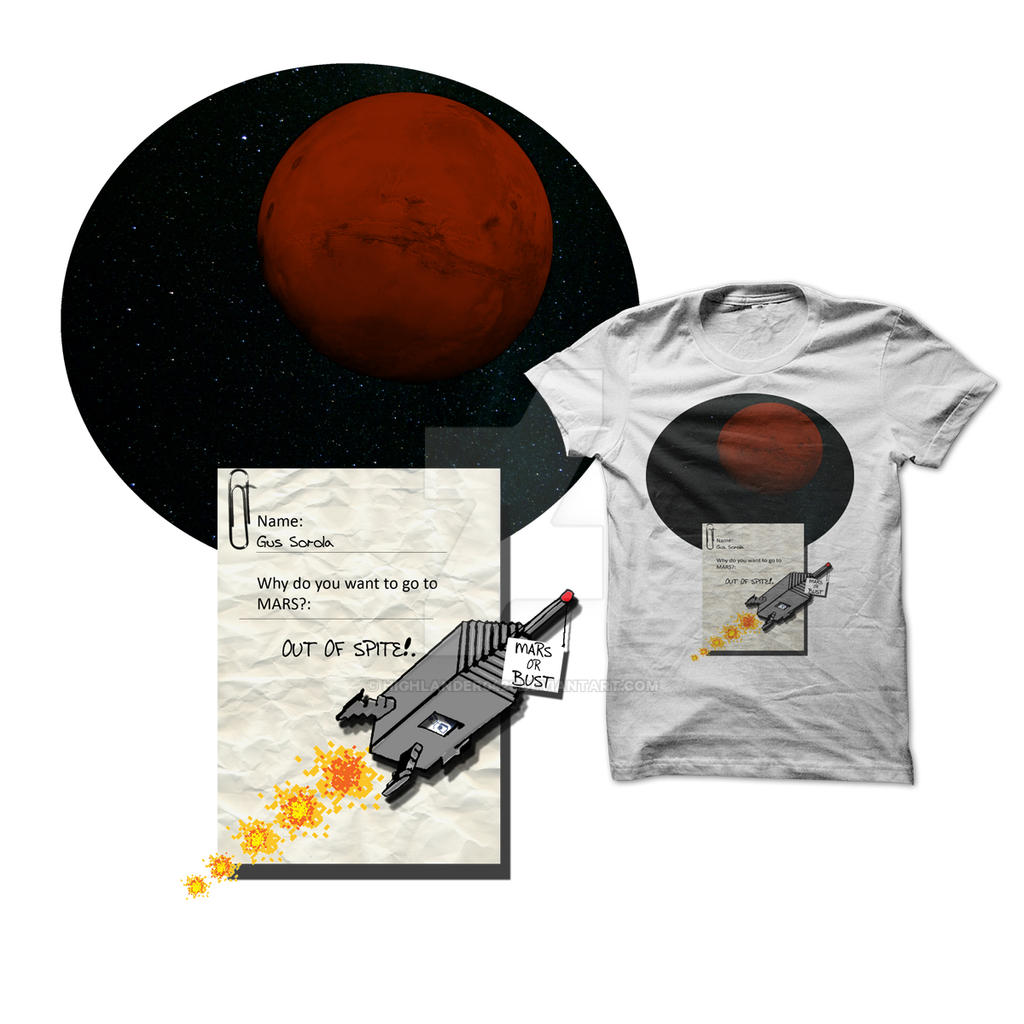 To Mars Out Of Spite