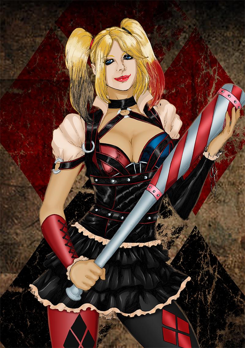 Harley Quinn By Deilson Colours
