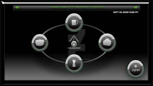 HOUSECOM appliance control interface.