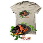 Tiger Oscar Tee Shirt Design.