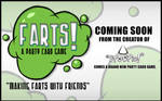 Farts Party Card Game Promo.