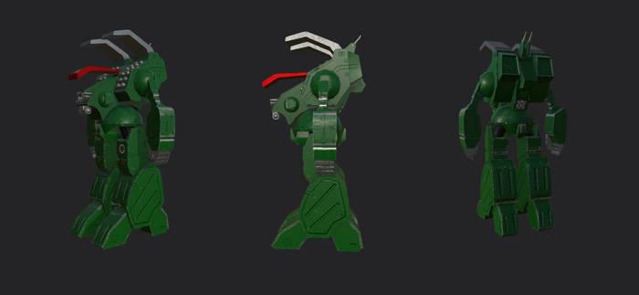 RoboTech Mecha (Gladiator) PASS 1