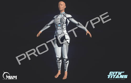 Prototype Female Tech Armor