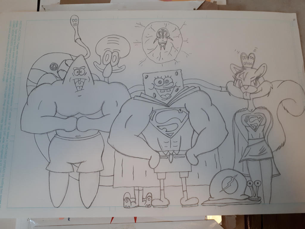 League of SuperHeroes (Bikini Bottom)