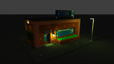 My First Voxel Art