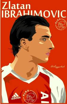 Zlatan Ibrahimovic Ajax Vector