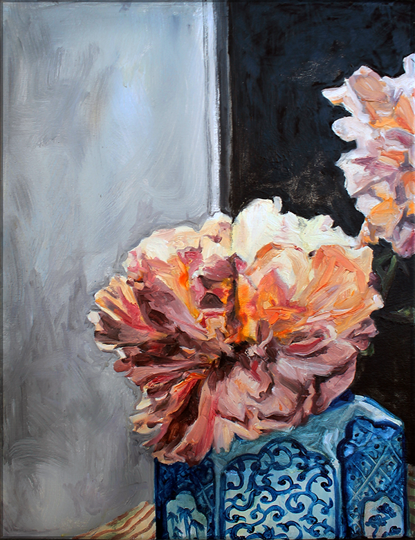 Peony, Left by Lillithia