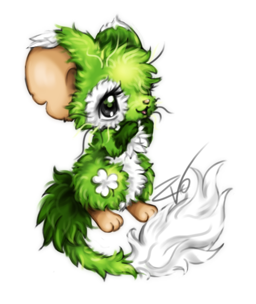 Transformice. Clover fur by krikdushi