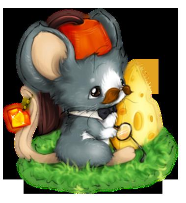 可爱老鼠微信头像