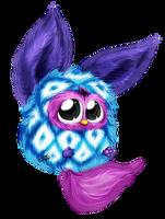 Furby Blue Diamonds by krikdushi