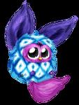 Furby Blue Diamonds