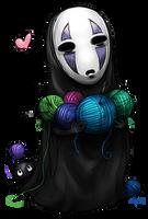 No-Face by krikdushi