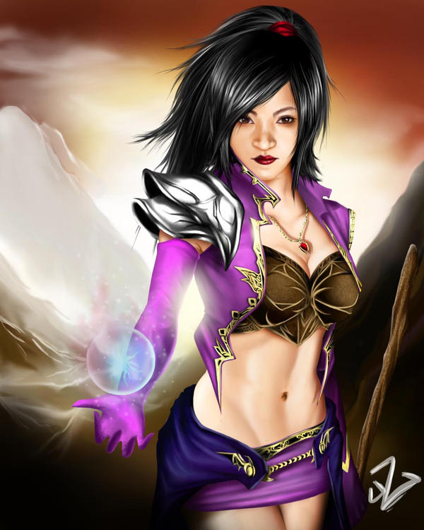 Diablo 3 Wizard : Fan Art by Guinzoo